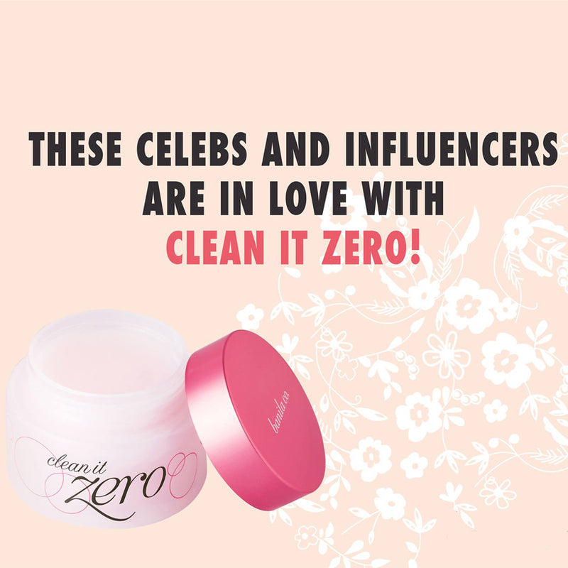 These Celebs and Influencers are In Love with Clean It Zero!