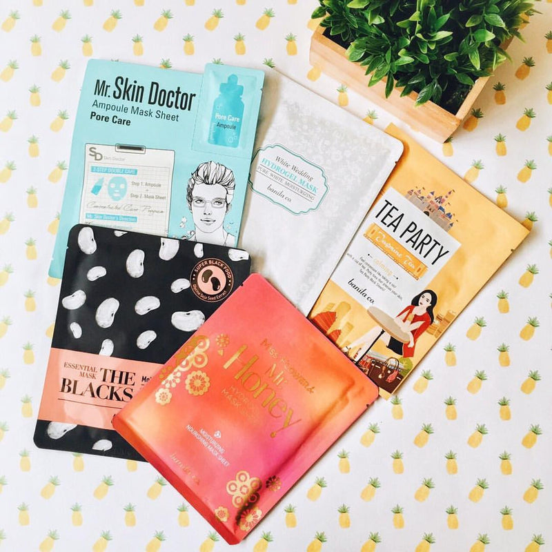 Sheet Masks: Everybody's Doing it and so Should You!