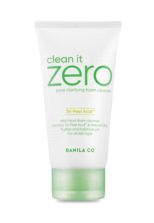 Clean It Zero Pore Clarifying Foam Cleanser