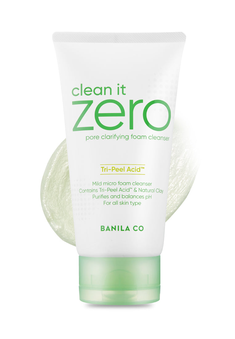 Clean It Zero Pore Clarifying: Double Cleansing Duo