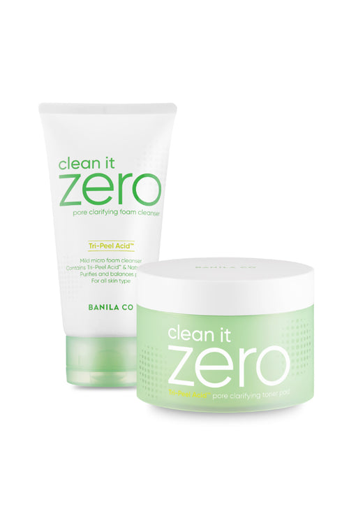 Clean It Zero Pore Clarifying: Lather and Tone Duo
