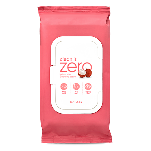 Clean It Zero Lychee Vita Cleansing Tissue 80pcs