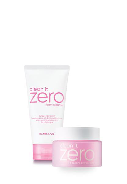Clean It Zero Double Cleansing Set