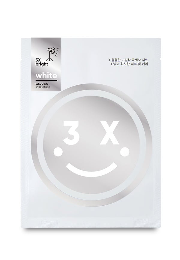 White Wedding Sheet Mask