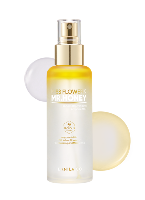 Miss Flower & Mr. Honey Propolis Rejuvenating Ampoule Mist