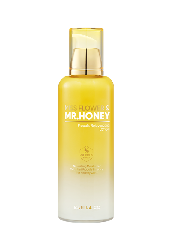 Miss Flower & Mr. Honey Propolis Rejuvenating Lotion