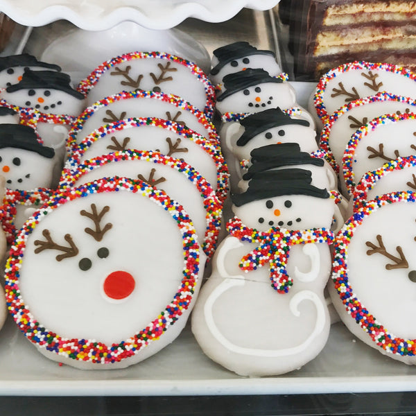 Hand Decorated Holiday Cookies