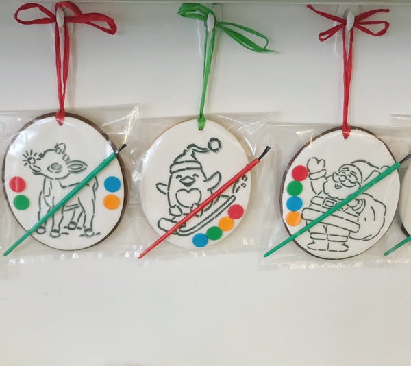 Paint-Your-Own Cookie Ornaments