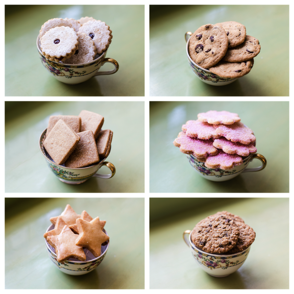 assorted small cookies
