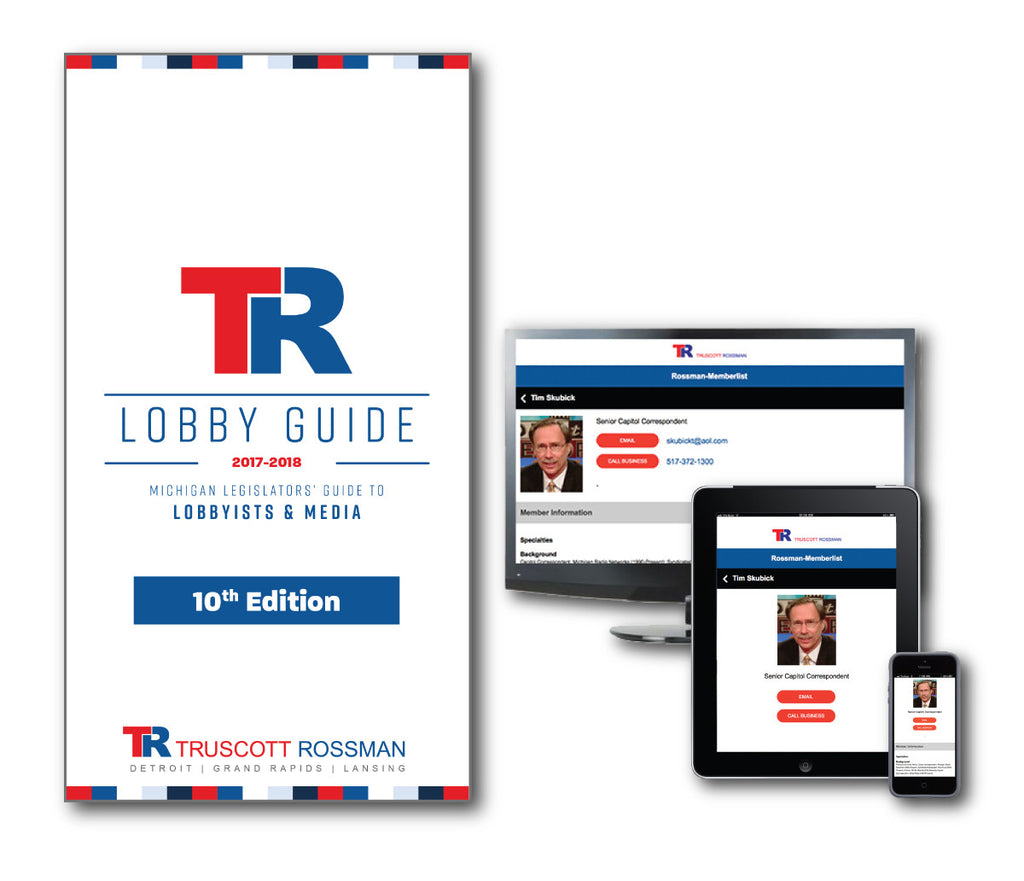 Electronic AND Printed Copy of Lobby Guide