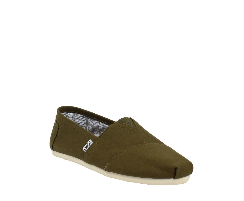 MEN`S CANVAS MILITARY OLIVE CLASSICS