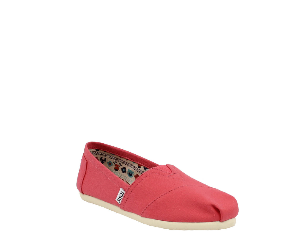 WOMEN`S CLASSIC SPICED CORAL CANVAS
