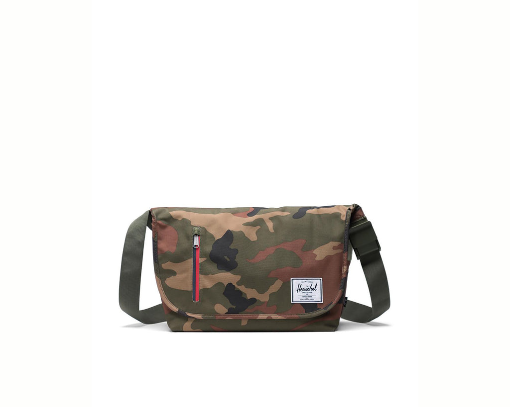 WOODLAND CAMO MULTI ZIP