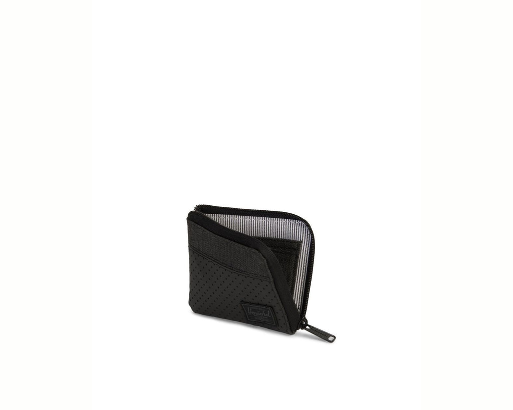Johnny Wallet Black Crosshatch/Black - Aspect