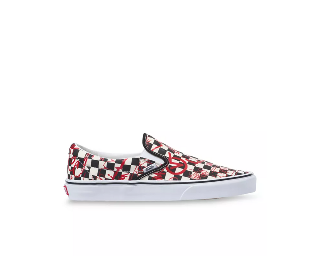 CHECKERBOARD RED