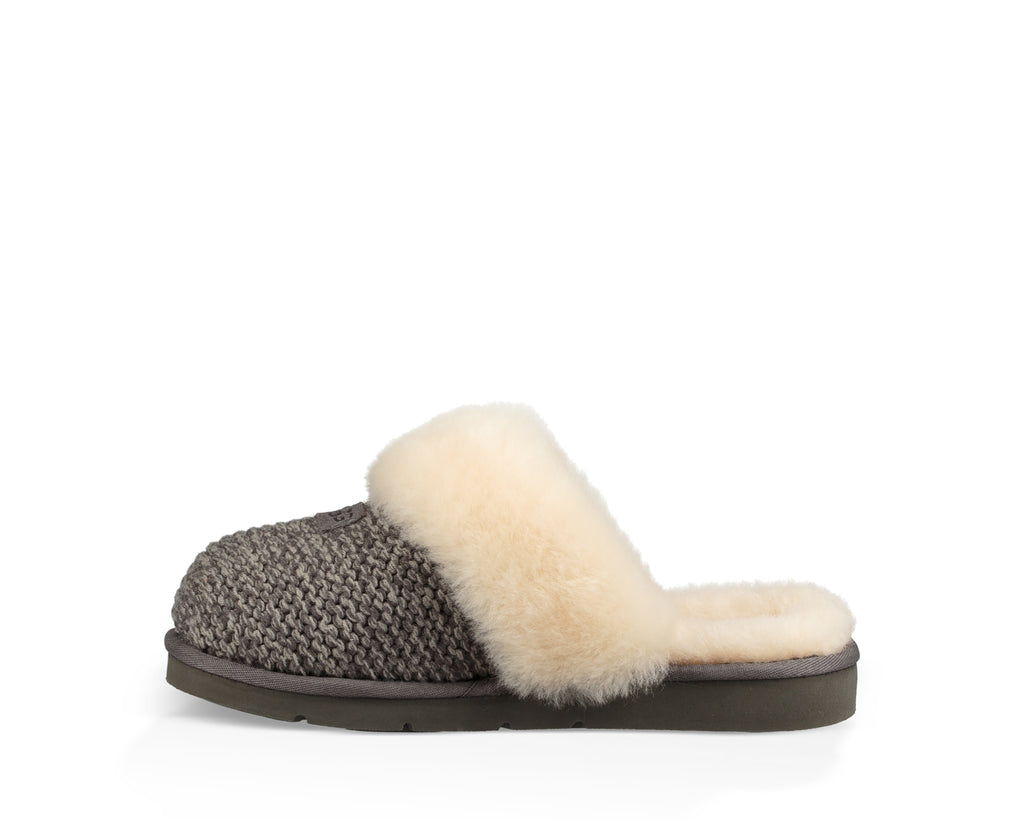 2cbbe4adc28 Home   UGG   Women`s Cozy Knit Slipper. CHARCOAL  CHARCOAL  CHARCOAL   CHARCOAL ...