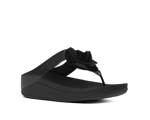 WOMEN`S SHIMMY SUEDE TOE-THONG SANDALS