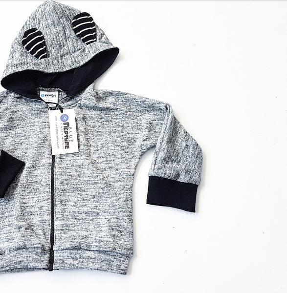White Noise Hoodie - Optional Ears
