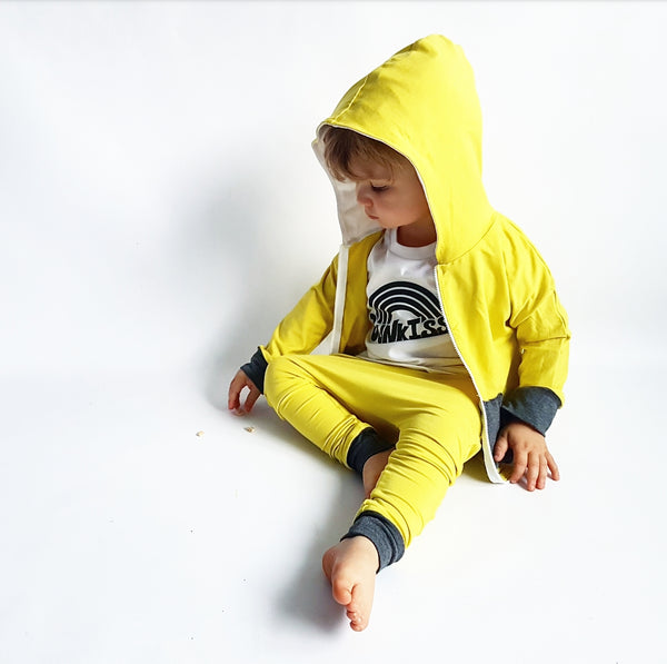 Chartreuse Bamboo Tracksuit