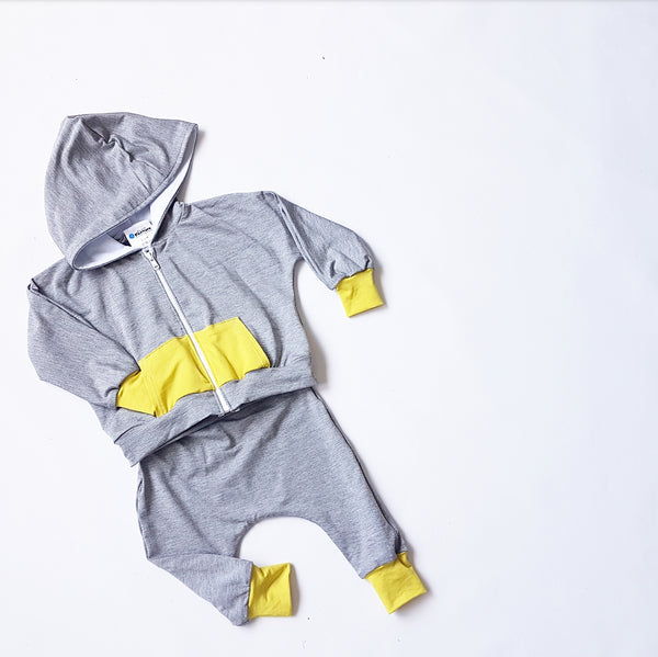 Light Grey  Bamboo Tracksuit
