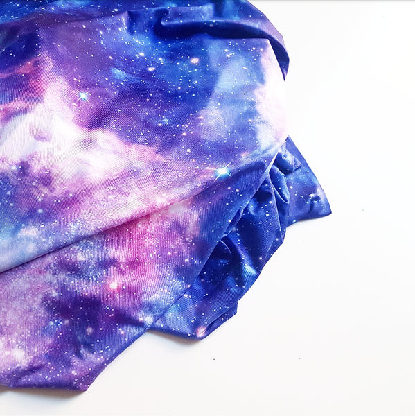 Purple Galaxy Fabric - build your own