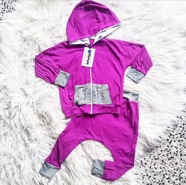 Berry Bamboo Tracksuit