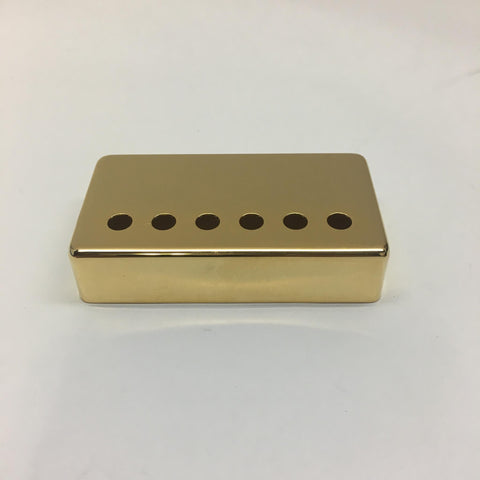 Humbucker Guitar Pickup Cover Gold (49.2mm) USA (Nickel-Silver)