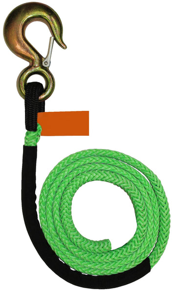 Synthetic Winch Line with Hook