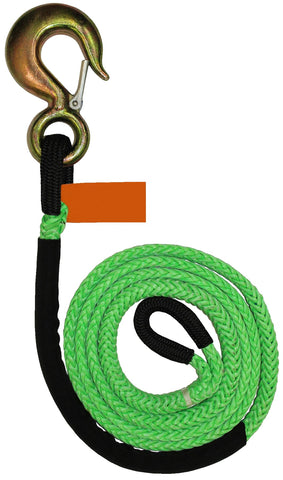 Synthetic Dyneema Winch Line Extensions W/Hooks