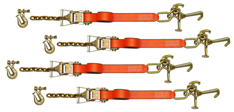 cluster strap tie downs