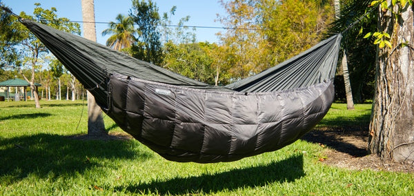 GO OUTFITTERS,CAMPING, HAMMOCK, UNDER QUILT