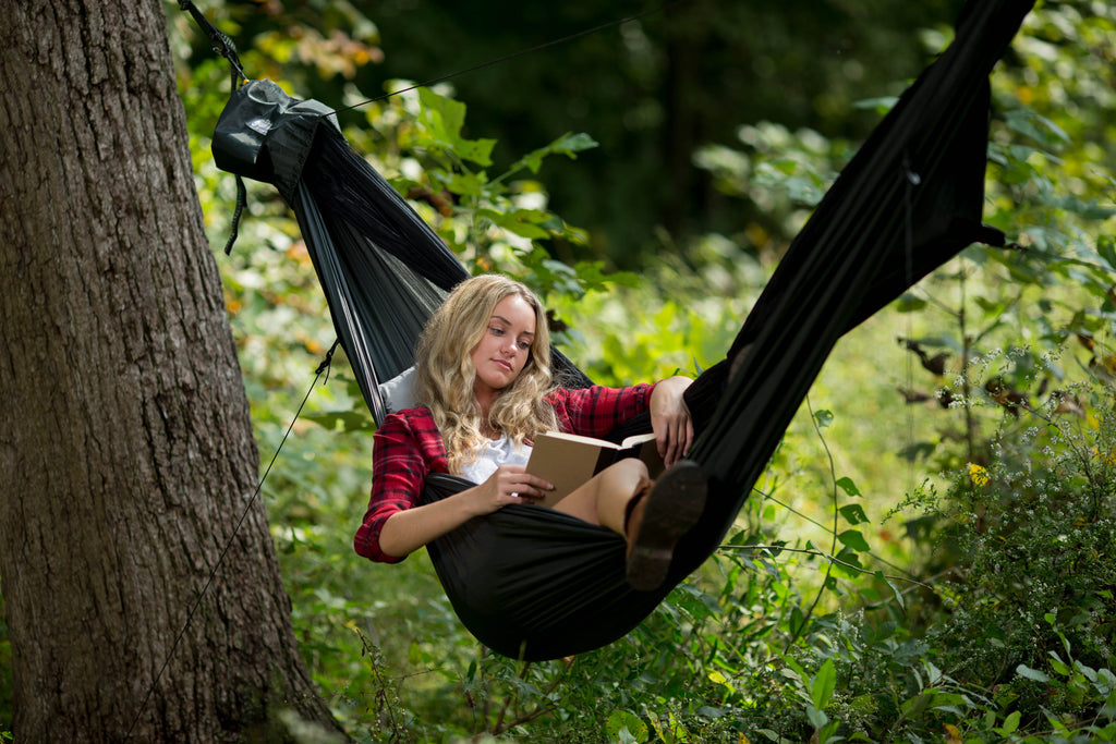 The Go Camping Hammock 2.0 is also perfect for just hanging around. Use it in your backyard, at parks, picnics, concerts, or anywhere life takes you. Keep one in your car or backpack, so you never miss a chance to hang.