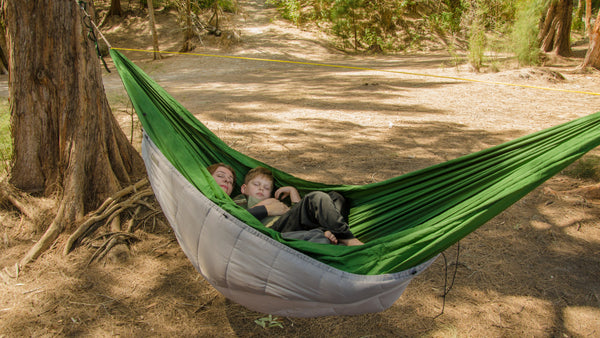 The Adventure Under Quilt is a full length quilt for hammock camping