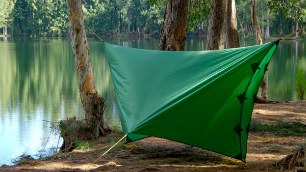 This hammock camping mode mode can be useful when heavy rain and wind are expected and you really want to hunker down.