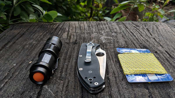 GO! Line is Compact  w/ a diameter of only 1.5 millimeters, you can remove some from the spool and keep it with your hiking gear or everyday carry kit. It will only take up only a tiny amount of space.