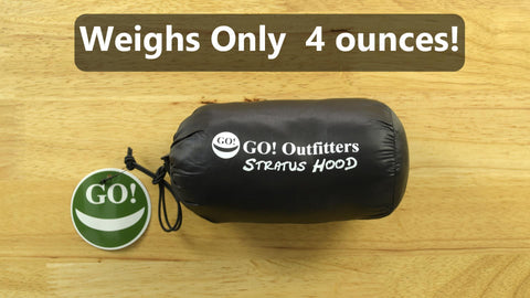 It's small enough that you can take it anywhere and it's ultralight too.  The set weighs only 4 ounces and packs down to 5  by 3 inches or smaller.