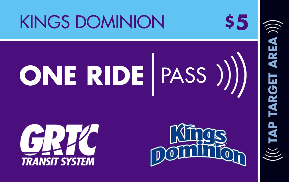 1 Kings Dominion One Ride Pass