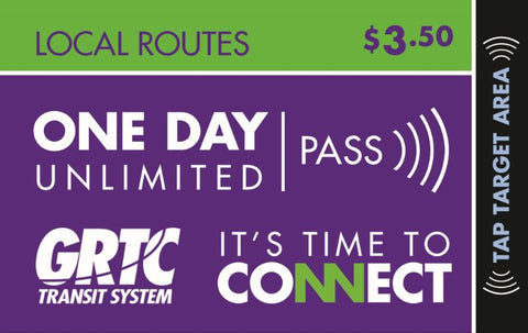 1 Day Local Routes Unlimited Pass