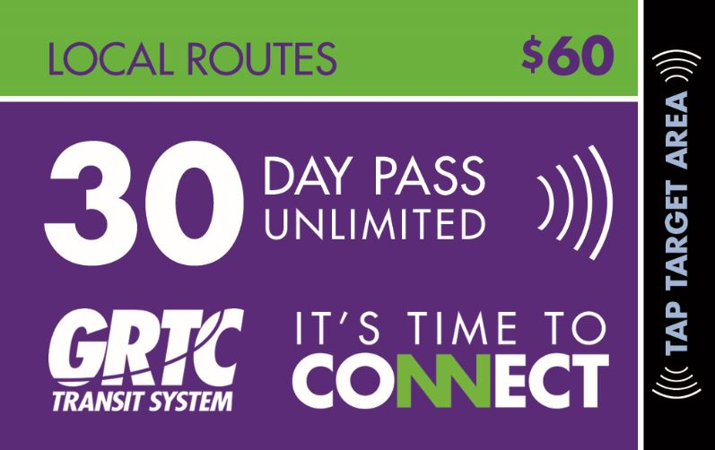 30 Day Local Routes Unlimited Pass