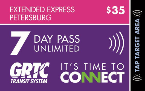 7 Day Express Unlimited Pass Petersburg