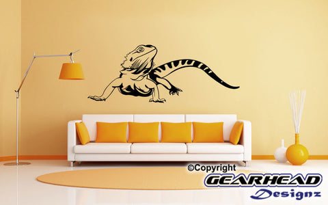 Bearded Dragon Removable Wall Decal