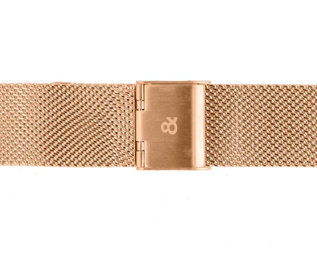 Rose Gold & Mesh | Founder's Edition | Parr & Co.