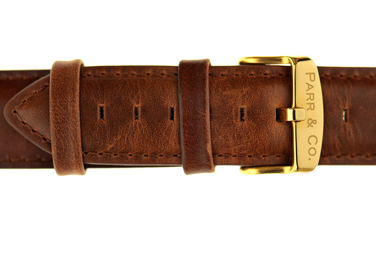 Brown Leather Strap | Founder's Edition | Parr & Co.