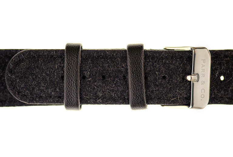 Dark Gray Tweed Strap | Founder's Edition | Parr & Co.