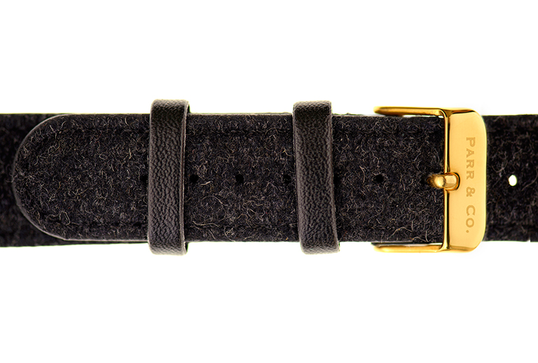 Gold & Dark Gray Tweed | Founder's Edition | Parr & Co.