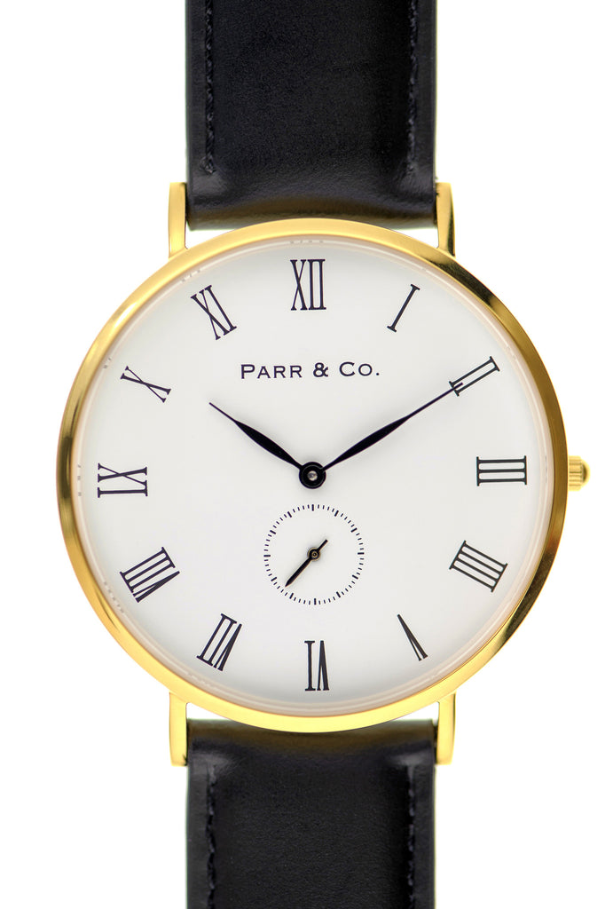 Gold & Black Leather | Founder's Edition | Parr & Co.
