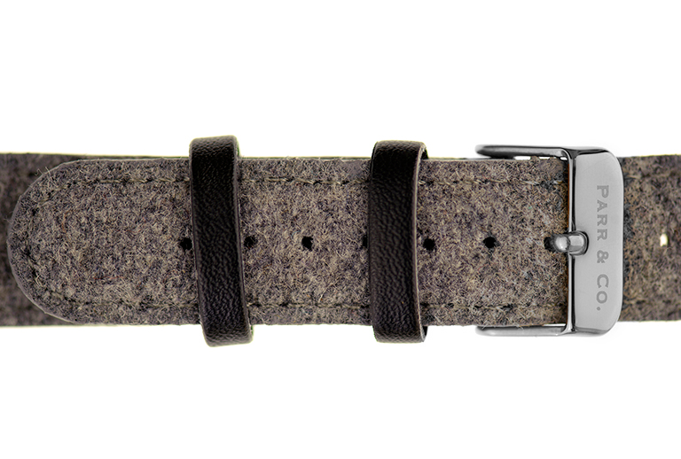 Silver & Light Gray Tweed | Parr & Co.
