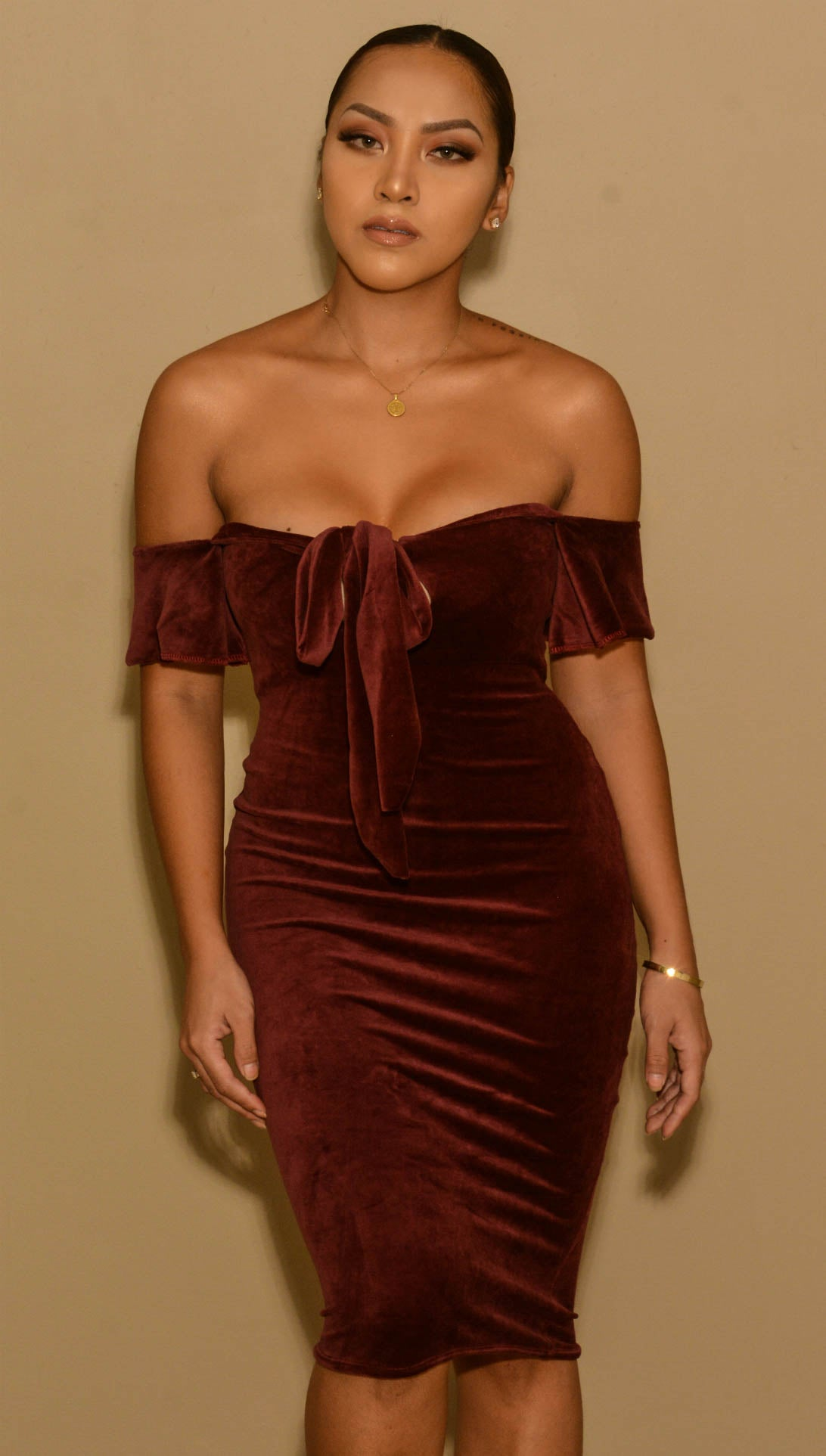 Suede Temptation Dress