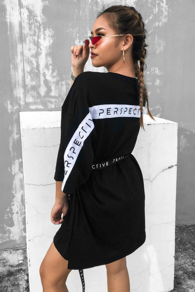 PERSPECTIVE T-SHIRT DRESS