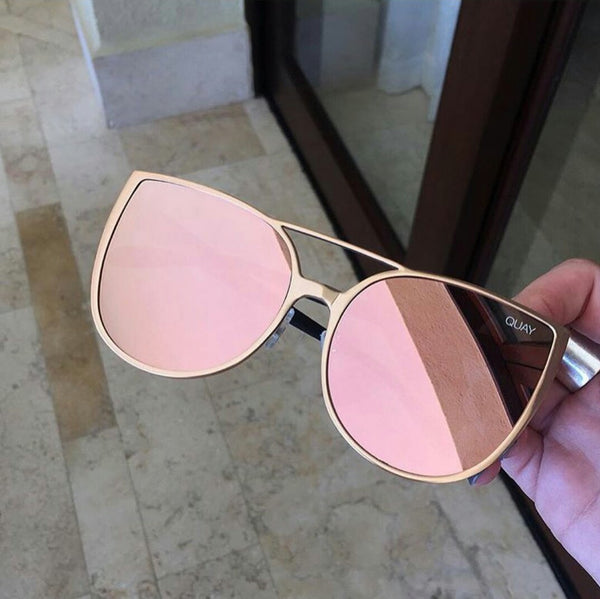 SORORITY PRINCESS SUNGLASSES GOLD/PINK